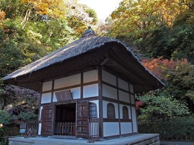 11明月院開山堂の秋.jpg